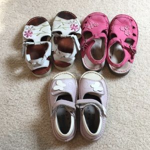 Bundle of size 9 girls sandals